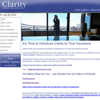 Clarity Event Insurance