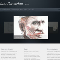 Jane Davarian Fine Art Website
