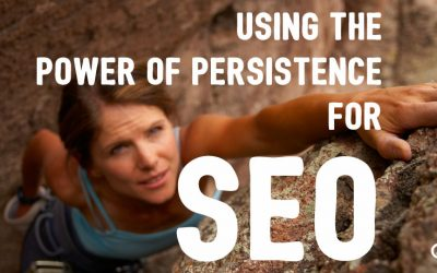 Using the Power of Persistence for SEO