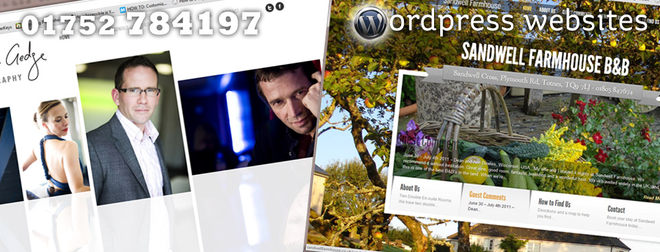 Wordpress Websites by Design Inspiration, Plymouth wordpress specialists