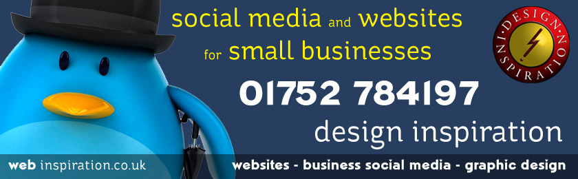 Design Inspiration - web design and social media management for small businesses