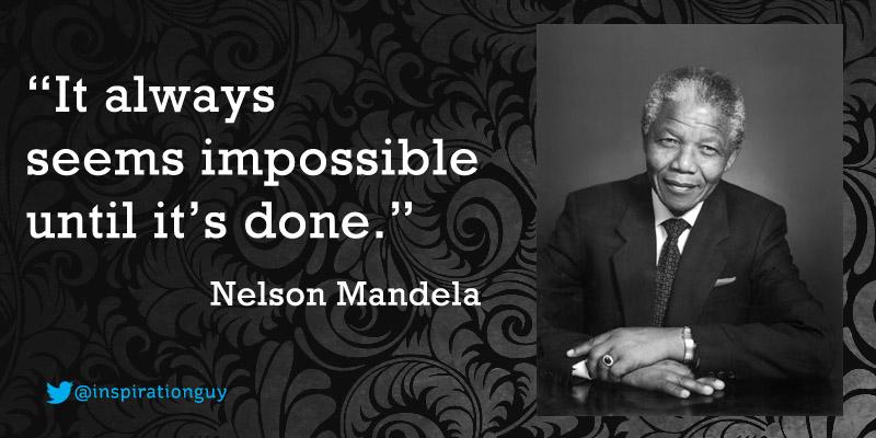 Nelson Mandela Quote 01