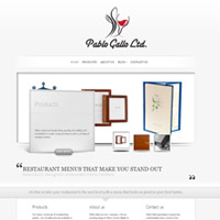 Pablo Gallo – Restaurant Menu Covers