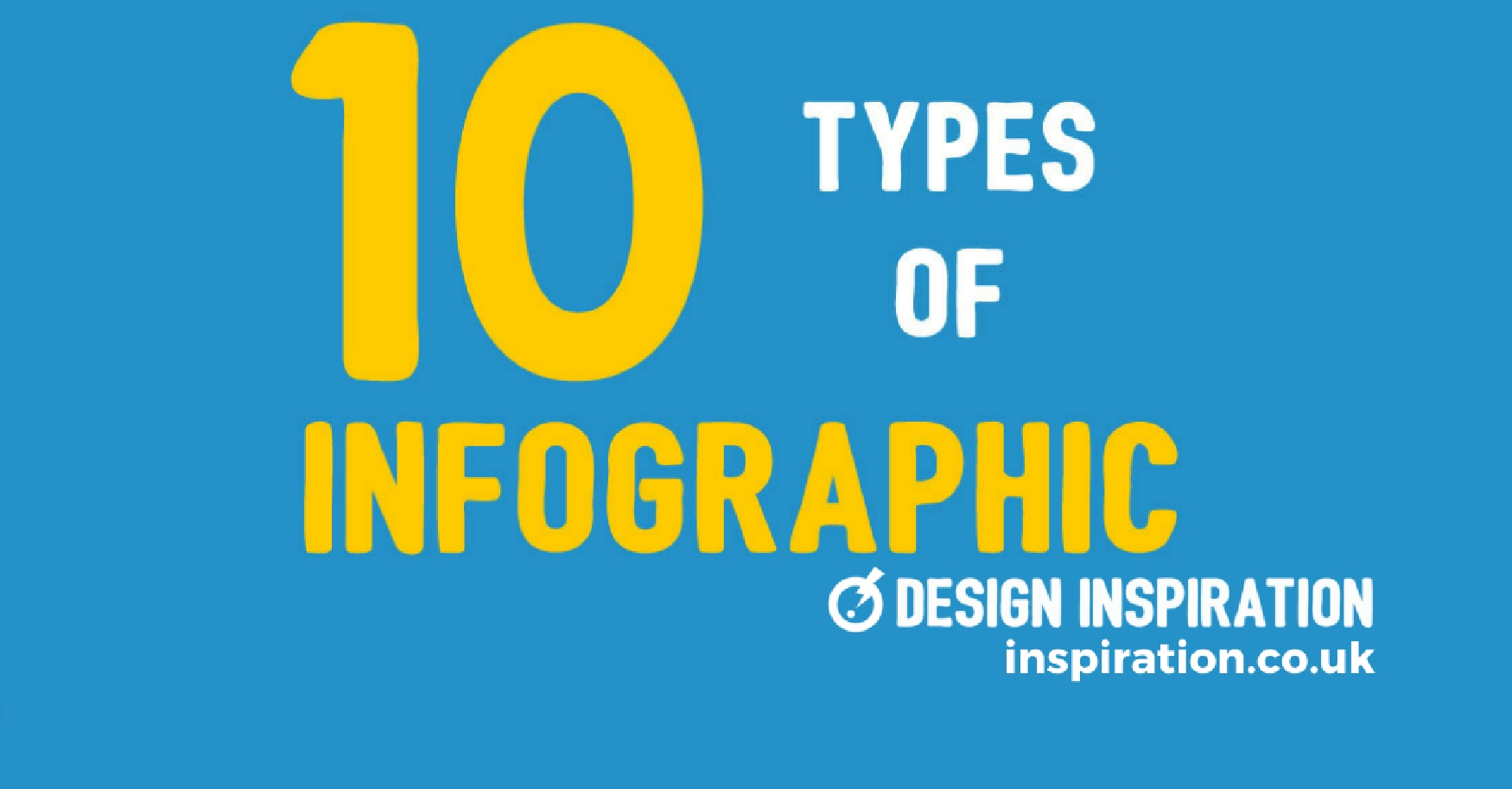 10 types of infographic | design inspiration