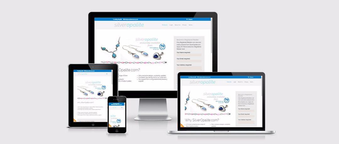 Silver Opalite Website